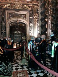 Tuna España en la Basílica