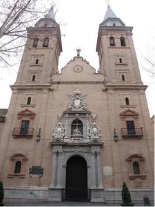 Fachada Principal de la Basílica de Nuestra Señora de las Angustias