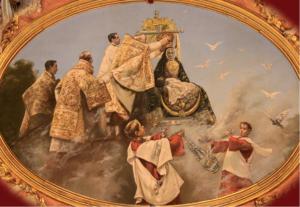 Pintura de la coronación