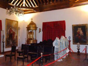 Sala de Cristo Sacerdote del la Exposición Permanente