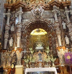Primer cuerpo del retablo