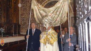 Cultos mensuales y Función Eucarística @ Basílica de Nuestra Señora de las Angustias