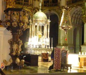 Adoración y Exposición del Santísimo, Santo Rosario y Eucaristía @ Santa Iglesia Catedral Metropolitana de la Encarnación de Granada