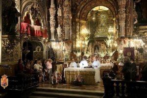 Sexto día de la Solemne Novena a la Santísima Virgen de las Angustias. @ Basílica de la Virgen de las Angustias