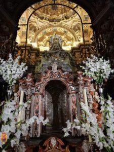 Primer día de la Solemne Novena a la Santísima Virgen de las Angustias. @ Basílica de la Virgen de las Angustias