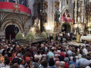 Solemne Eucaristía de Vísperas @ Basílica de la Virgen de las Angustias