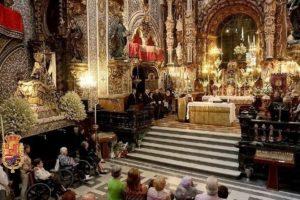 Noveno día de la Solemne Novena @ Basílica de la Virgen de las Angustias